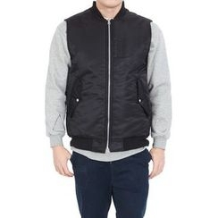 Seoul Homme - Dual-Pocket Zip-Up Vest