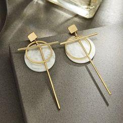 STYLEJING - Asymmetric Earrings
