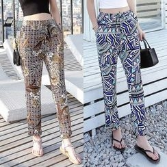 Fashion Street - Patterned Harem Pants