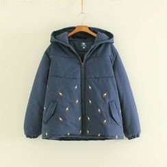 Mushi - Hooded Padded Jacket
