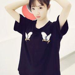 Polaris - Printed Short-Sleeve T-shirt