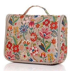 HINCLOUD - Floral Travel Toiletry Bag