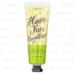 Etude House 伊蒂之屋 - Loving Days Hand Cream (Sweet Sparking)