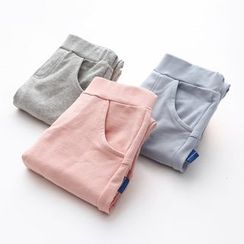 貝殼童裝 - 小童純色褲