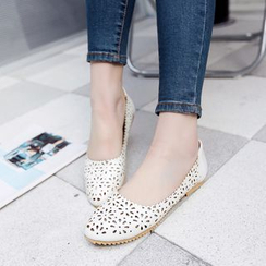 Shoes Galore - Perforated Flats