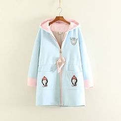 Mushi - Hooded Long Coat