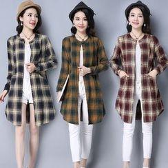 Yeeya - Plaid Long Shirt