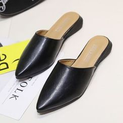 EMIL - Pointed Slide Loafers