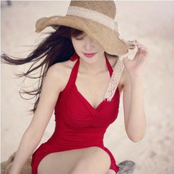 Lady J Swimwear - Shirred Swimdress