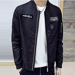 Izme - Bomber Zip Jacket