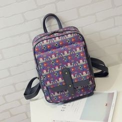 Bibiba - Printed Backpack