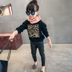 Lemony dudu - Kids Appliqué Pullover