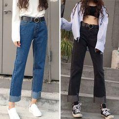 CHIH - 宽脚牛仔裤