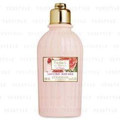 L'Occitane 欧舒丹 - 嫣红玫瑰身体保湿乳液