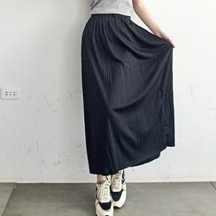 LULUS - Pleated Maxi Skirt