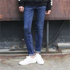 Superstar.i - Band-Waist Slim-Fit Jeans