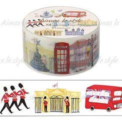 Aimez le style - Aimez le style Masking Tape Primaute Middle Downtown London
