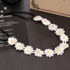 Gold Beam - Floral Hair Band