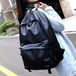 Top Seeka - Faux Leather Backpack