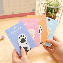 Eranso - Cat Hand Sticky Notes