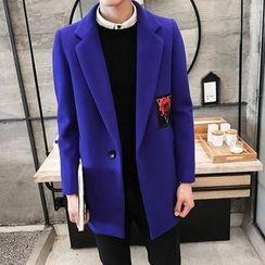 Blueforce - 碎花貼布繡大衣