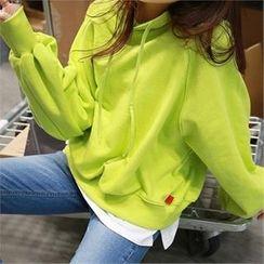 PEPER - Hooded Raglan-Sleeve T-Shirt