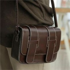 CHICFOX - Stitched Shoulder Bag