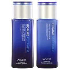 LACVERT - Homme Re:charge Mild Set: After Shave 160ml + Emulsion 160ml