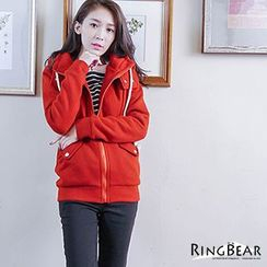 RingBear - Hooded Pocketed Jacket
