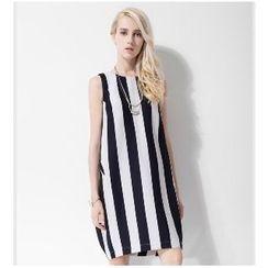 Halona - Striped Tank Dress