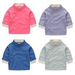 JAKids - 小童長袖中式盤扣上衣