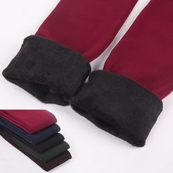 RIANJ EYA - Fleece-Lined Stirrup Leggings