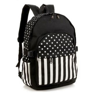 Miss Sweety - Stripe & Star-Print Backpack