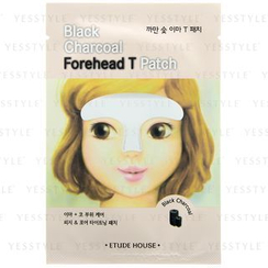 Etude House - Black Charcoal Forehead T Patch