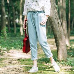 Rainie - Washed Jeans