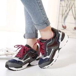 Mancienne - Color-Block Sneakers