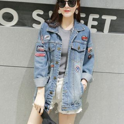 EFO - Applique Denim Jacket