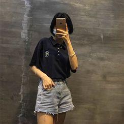 Octavia - 刺繡馬球衫