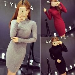 RUI - Ribbed Knit Dress