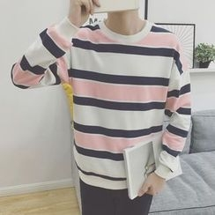 Soulcity - Striped Sweatshirt