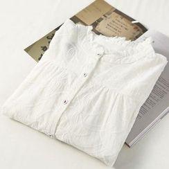 蘭芝 - 刺繡長襯衫