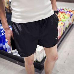 Riverland - Drawstring Waist Shorts