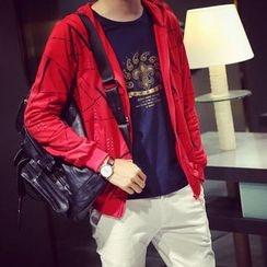 SICRIT - Print Hooded Jacket