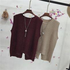 Whitney's Shop - Plain Knit Vest