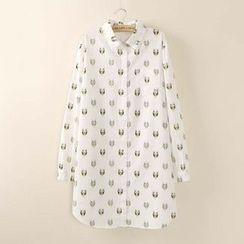 Tangi - Print Long Shirt