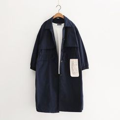 Piko - Single-Breasted Trench Coat