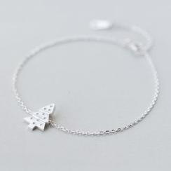 A'ROCH - 925 Sterling Silver Christmas Tree Bracelet