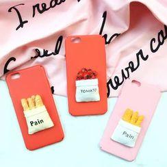 Milk Maid - 纸袋裝飾iphone6/6plus/7/7plus保護套