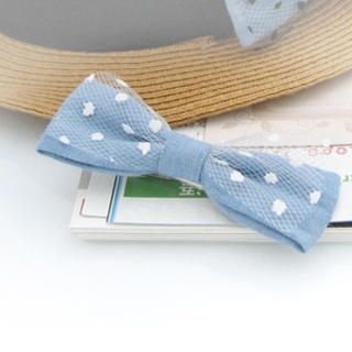 Fit-to-Kill - Bow  Hair Pin-White