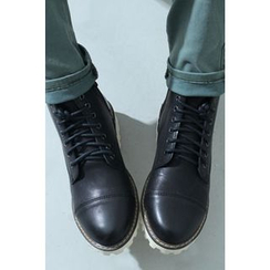 Ohkkage - Faux-Leather Boots